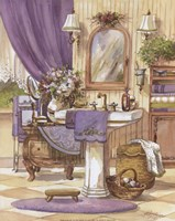 Victorian Bathroom II Framed Print