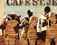 Cafe St. Jean Fine-Art Print