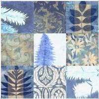 Blue Textures 9 - Patch Fine-Art Print
