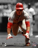 Mike Trout 2012 Spotlight Action Fine-Art Print