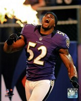 Ray Lewis 2012 Action Fine-Art Print