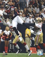 Andre Johnson 2012 Action Fine-Art Print