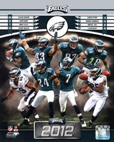 Philadelphia Eagles 2012 Team Composite Fine-Art Print