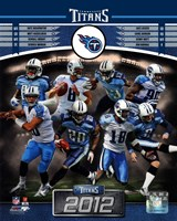 Tennessee Titans 2012 Team Composite Fine-Art Print