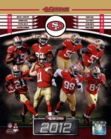 San Francisco 49ers 2012 Team Composite Fine-Art Print