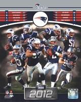 New England Patriots 2012 Team Composite Fine-Art Print