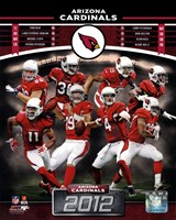 Arizona Cardinals 2012 Team Composite Fine-Art Print