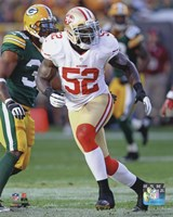 Patrick Willis 2012 Action Fine-Art Print