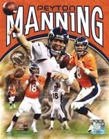 Peyton Manning 2012 Portrait Plus Fine-Art Print