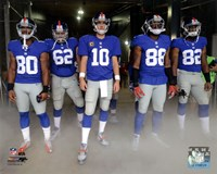 New York Giants 2012 Team Introduction Fine-Art Print