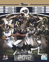 St. Louis Rams 2012 Team Composite Fine-Art Print