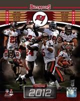 Tampa Bay Buccaneers 2012 Team Composite Fine-Art Print