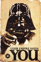 Star Wars - Your Empire Wall Poster
