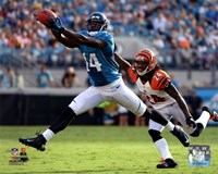 Justin Blackmon 2012 catch Fine-Art Print
