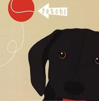Peek-A-Boo Labrador Fine-Art Print