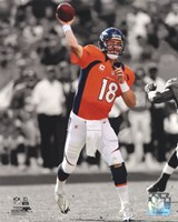 Peyton Manning 2012 Spotlight Action Fine-Art Print