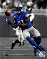 Calvin Johnson 2012 Spotlight Action Fine-Art Print
