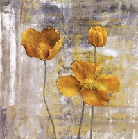 Yellow Flowers II Fine-Art Print