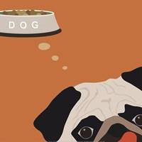Peek-A-Boo Pug Fine-Art Print
