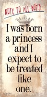Born a Princess Fine-Art Print