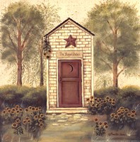 Folk Art Outhouse III Fine-Art Print