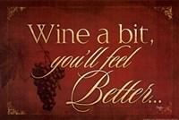 Wine a Bit Fine-Art Print