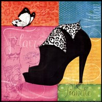 Chic Shoe I Fine-Art Print