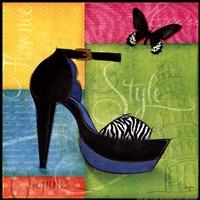 Chic Shoe II Fine-Art Print
