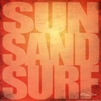 Sun. Sand, Surf Fine-Art Print