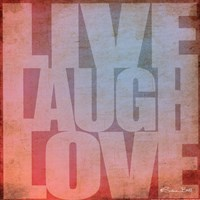 Live, Laugh, Love Fine-Art Print
