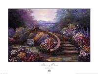 Garden Stair Fine-Art Print