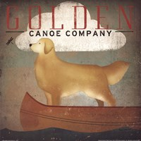 Golden Dog Canoe Co. Fine-Art Print