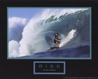 Risk-Surfer Fine-Art Print