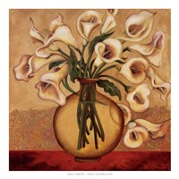 White Autumn Lilies Fine-Art Print