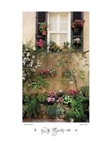 Valbonne Window Fine-Art Print
