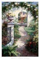 Flowered Archway Fine-Art Print