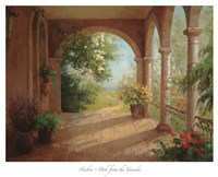 Path from the Veranda Fine-Art Print