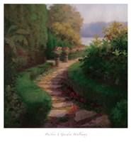 Garden Walkway Fine-Art Print
