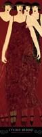 Women in Crimson Gowns Fine-Art Print