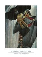 L'Amour sous le Parapluie Fine-Art Print
