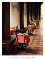 Cafe Arcade, Venice Fine-Art Print