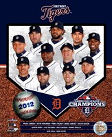 Detroit Tigers 2012 American League Champions Composite Fine-Art Print