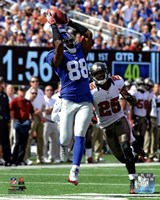 Hakeem Nicks 2012 catch Fine-Art Print