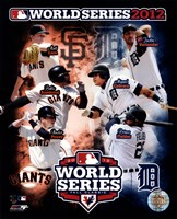 San Francisco Giants vs. Detroit Tigers World Series Match-up Composite Fine-Art Print