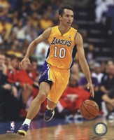 Steve Nash 2012-13 Los Angeles Lakers Fine-Art Print