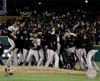 The San Francisco Giants Celebrate Winning Game 4 of the 2012 World Series Fine-Art Print