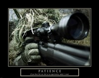 Patience - Military Man Fine-Art Print