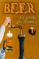 Beer... It's What's for Dinner Fine-Art Print