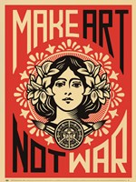 Make Art Not War Fine-Art Print