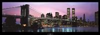 Brooklyn Bridge and New York City Skyline Fine-Art Print
